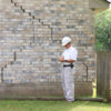 Why it's important to assess the home for wall cracks and foundation damage this summer